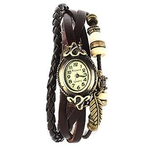 Yesurprise 045836–Montre bracelet pour femme, bracelet en cuir