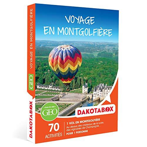 DAKOTABOX - Voyage en montgolfière - Coffret Cadeau Sport & Aventure - 1 vol en...
