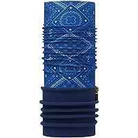 BUFF® SET - POLAR Braga de Cabeza + UP® Paño tubular | Gorra de invierno | Calentador de cuello | Polartec® | Bufanda, alle Buff Designs 2016:092. WALKER BLUE / NAVY