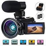 Caméra vidéo Caméscope 4K ACTITO...