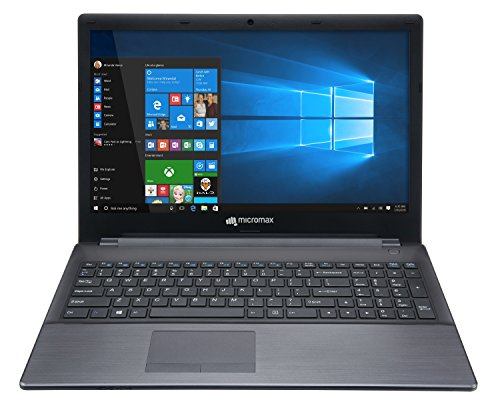 Micromax Alpha LI351568W 15.6-inch Laptop (5th Gen Core i3-5005U/6GB/500GB/Windows 10/Integrated Graphics), Silver image