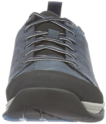 Clarks Baystonelo Gtx, Scarpe Stringate Uomo Blu (Blue Nubuck)