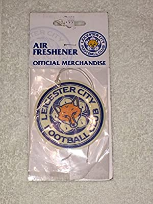 Official LEICESTER CITY FC crest shape air freshener