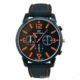 2014grand Touring de F1Gt Hombres Deporte Cuarzo Reloj Military Relojes Reloj De Pulsera De Los Hombres De Moda Relojes (naranja)