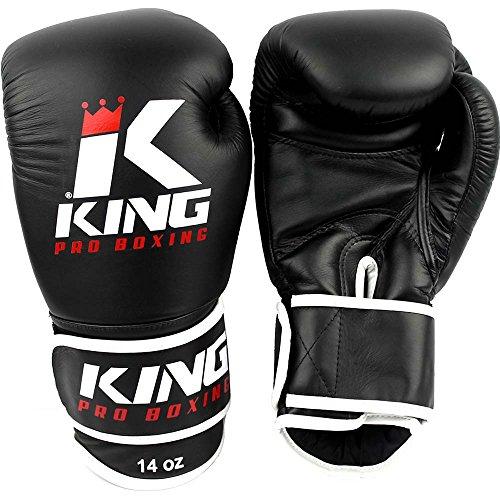King Pro Boxing Muaythai Premium Boxhandschuhe Leder (12 oz)