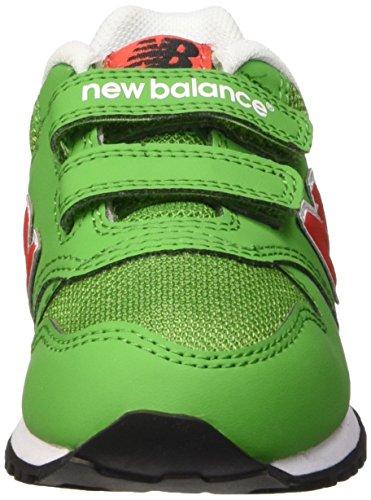 New Balance Jungen Nbkv500gdi Krabbelschuhe Verde (Green Red)