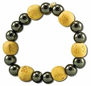 Bracelet perles de karma kids - hematite