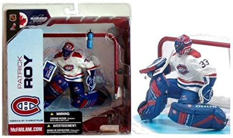 McFarlane NHL 5 Patrick Roy Montreal Canadians White Variant Chase Figure by Unknown