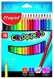 Maped M183218 - Buntstifte Color Peps Classic, 18er Packung