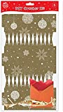 Make Your Own Gold Christmas Crackers - Pack of 6