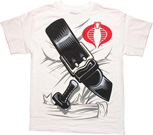 Joe Storm Shadow Anzug T-Shirt XX-Large (Gi Joe Storm Shadow Kostüme)