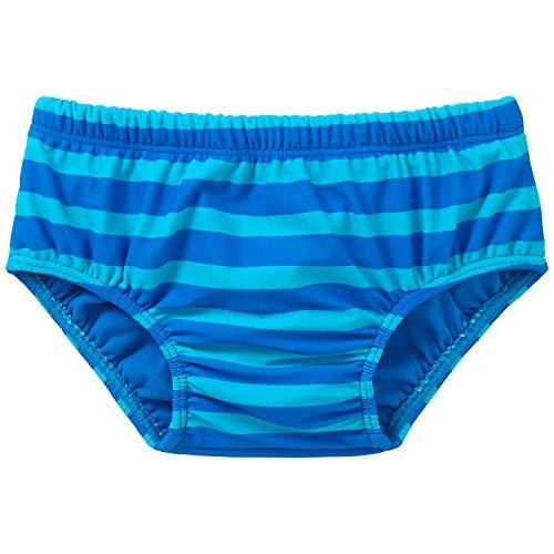 Schiesser Baby - Jungen Badehose Bade - Slip, Gr. 62 (Herstellergröße: 412), Blau (blau 800)
