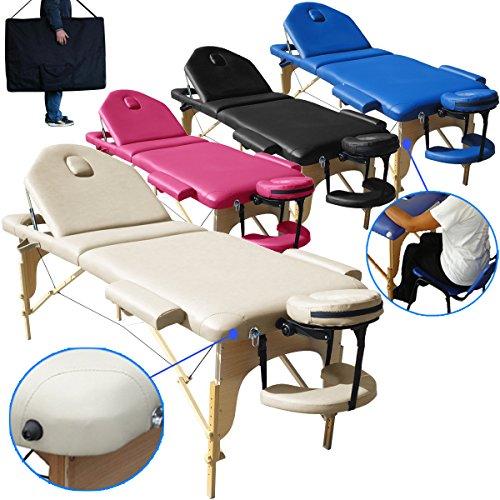 Lettino X Massaggio.Lettino Massaggio 3 Zone Nuovo Modello Dimensione Xl 195 X 70 Cm Pannello Reiki Angoli Arrotondati E Rinforzati Lettini Per Da Massaggi