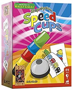 999 Games Stapelgekke Speed Cups - Juego de Tablero (Multi)