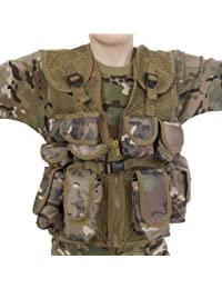 5//6 yrs KAS KIDS BOYS COMBAT PADDED JACKET ARMY CLOTHING UNIFORM CAMO CADET CAMOUFLAGE
