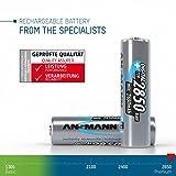 ANSMANN wiederaufladbare Akkubatterie 2er Pack - 2