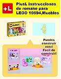 PlusL instrucciones de remake para LEGO 10694,Muebles: Usted puede construir Muebles de sus propios ladrillos (Spanish Edition)