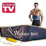 Wonder Belt–Die exklusive Abnehmgürtel Elektrische mit Funktion Sauna–Ideal für Bauch, Bauch, Arme und Beine. Stirnband Pro Enganliegend Mit Heizsystem Bauch Modellieren