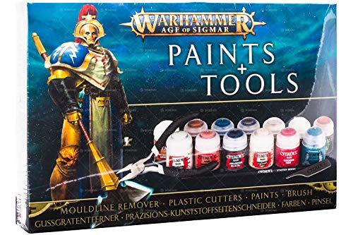 Age Of Sigmar Warhammer Paints+Tools