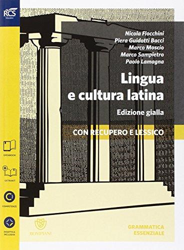 Lingua e cultura latina e lessico. Grammatica essenziale. Ediz. gialla. Per le Scuole superiori. Con espansione online: 1