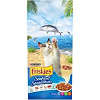 Purina Friskies 2.86 Kg Seafood Sensations Cat Dry Food