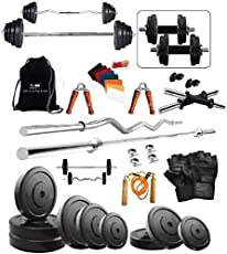 Protoner 20kg Weight Lifting Package with Rods