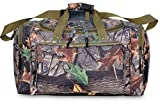 30 Explorer Wildland -Mossy Oak Realtree Like- Hunting Camo Heavy Duty Duffel Bag - Luggage Travel Gear Bag- Adjustable Heavy Stitched Shoulder Strap by Explorer