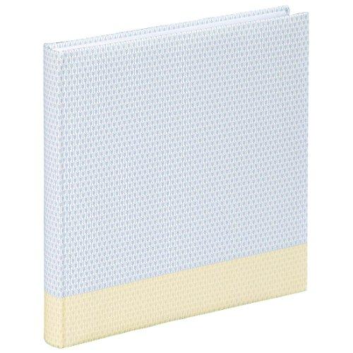 """Hama Fotoalbum """"Filigrana"""" (Jumbo Album mit 80 weißen Seiten, für 320 Fotos im Format 10x15, Albenformat 30x30) XXL Fotobuch pastell-gelb"""