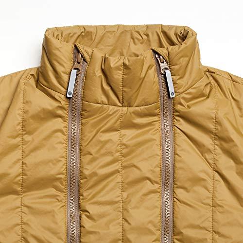 THOKKTHOKK Damen Jacke Kapok Olivgrün Fair Vegan, Größe:S - 6