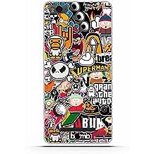 Xiaomi Mi 4i Funda, Xiaomi Mi 4c Funda, Gift_Source [ Pequeña caricatura ] teléfono caso cubrir volver piel protectora Shell Carcasas Funda Silicona Suave Funda Shock- Absorption and Anti-Scratches para Xiaomi Mi4i / Mi4C 5.0inch