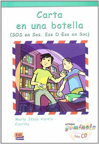 Carta en una botella - Libro + CD (Lecturas Gominola) por Pedro Tena Tena