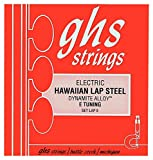 GHS LAPE Hawaiian Lap Steel E Tuning String Set