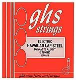 GHS LAPE Jeu de cordes pour Guitare Lap Steel E Tuning
