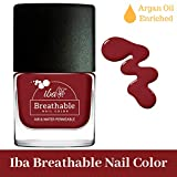 #2: Iba Halal Care Breathable Nail Color, B08 Very Berry, 9ml