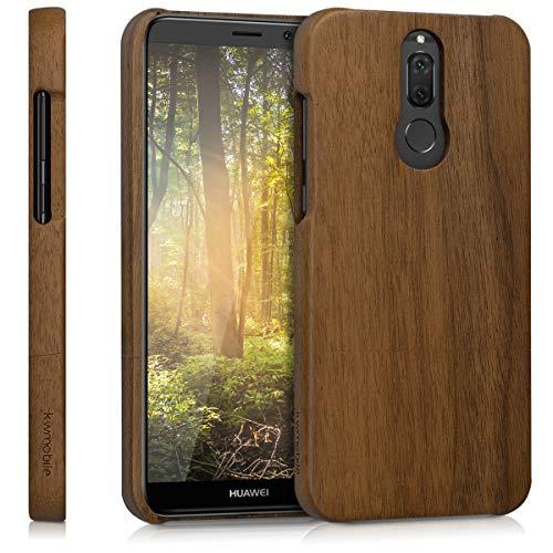 kwmobile Huawei Mate 10 Lite Hülle - Handy Schutzhülle aus Holz - Cover Case Handyhülle für Huawei Mate 10 Lite