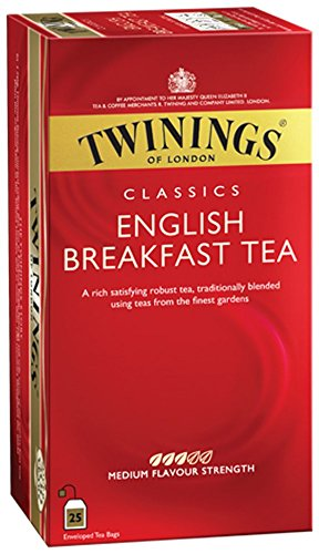Twinings English Breakfast 50g, 25 Beutel, 1er Pack (1 x 50 g)