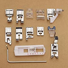 Kit 13 x prensatelas pie pies pies para máquinas de coser husqvarna Viking