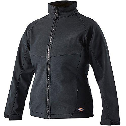 Dickies JW80000 BK L Damen Softshell-Jacke Foxton schwarz L