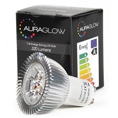 AURAGLOW Energiesparlampe 6w LED GU10 Spot Warmes Weiss Leuchtmittel, Entspricht 50w von Auraglow auf Lampenhans.de