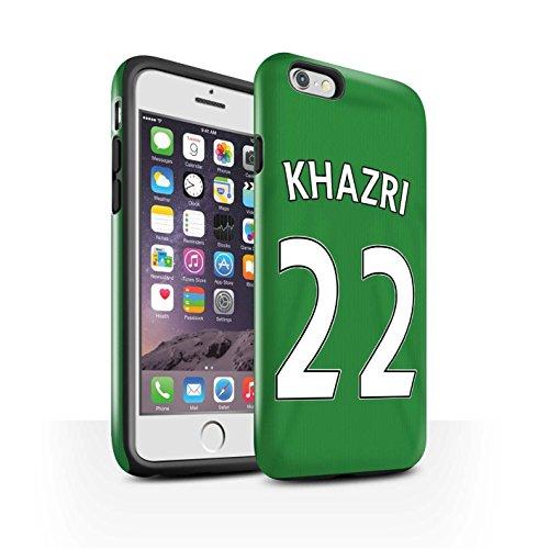 Offiziell Sunderland AFC Hülle / Glanz Harten Stoßfest Case für Apple iPhone 6S / M'Vila Muster / SAFC Trikot Away 15/16 Kollektion Khazri