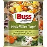 Buss Holzfäller-Topf Schweineragout mit Champignons und Kartoffeln , 800 g