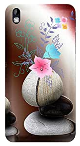 TrilMil Printed Designer Mobile Case Back Cover For HTC DESIRE 816 / 816G