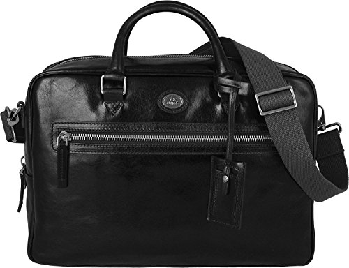 f9b80c4a46 The Bridge Story Uomo borsa pelle 40 cm Nero ...