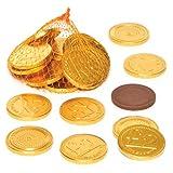 Baker Ross Goldene Schokotaler – Perfekt als Kleine Überraschung oder Preis bei Partyspielen (15 Stück)