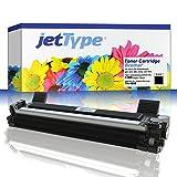 jetType Toner ersetzt Brother TN-1050 für MFC-1810 / MFC-1910w / DCP-1510 / DCP-1512 / HL-1110 / DCP-1610w / DCP-1612w / HL-1210w, schwarz, 1.000 Seiten