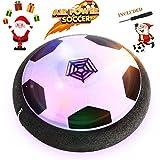 Air Power Fußball - Betheaces Hover Ball Indoor Fußball mit LED Beleuchtung, Perfekt zum Spielen in Innenräumen ohne Möbel oder Wände zu beschädigen -