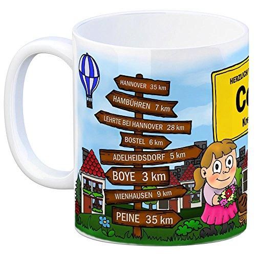 trendaffe - Herzlich Willkommen in Celle Kaffeebecher - 4