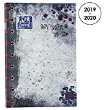 Oxford My Xfrd Agenda Scolaire Journalier 2019-2020 1 Jour Page 352 Pages 12x18 Rose