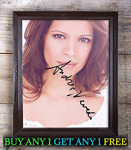Andrea Navarro Autographed Signed Reprint 8X10 Photo #48 Special Unique Gifts Ideas for Him Her Best Friends Birthday Christmas Xmas Valentines Anniversary Fathers Mothers Day