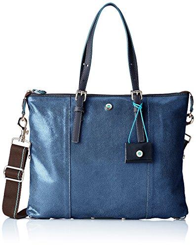 Gabs Damen G3 Henkeltasche, 1x31x38 cm Blau (Blu)